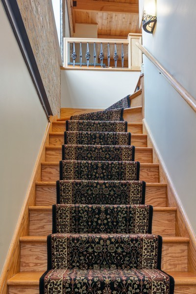Real Estate Photography - 3201 N Ravenswood, #401, Chicago, IL, 60657 - Staircase