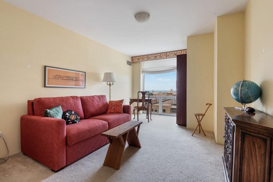 Real Estate Photography - 1640 Maple Avenue, 1207, Evanston, IL, 60201 - Bedroom