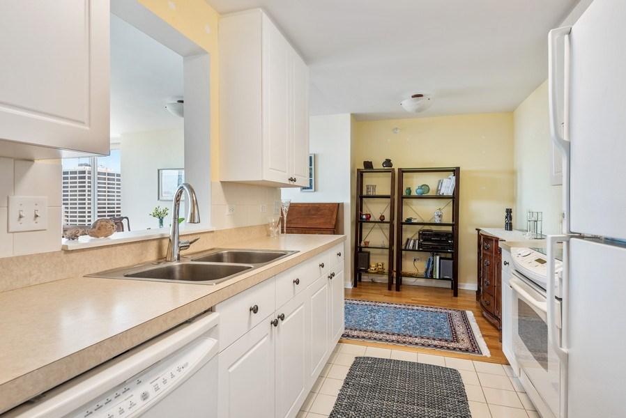Real Estate Photography - 1640 Maple Avenue, 1207, Evanston, IL, 60201 - Kitchen