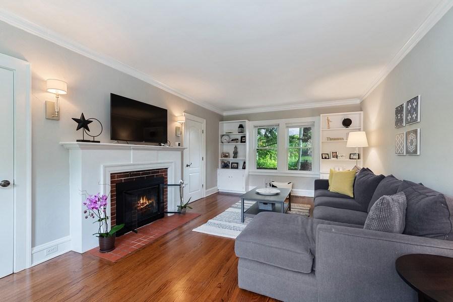Real Estate Photography - 1159 Green Bay Road, Glencoe, IL, 60622 - Living Room