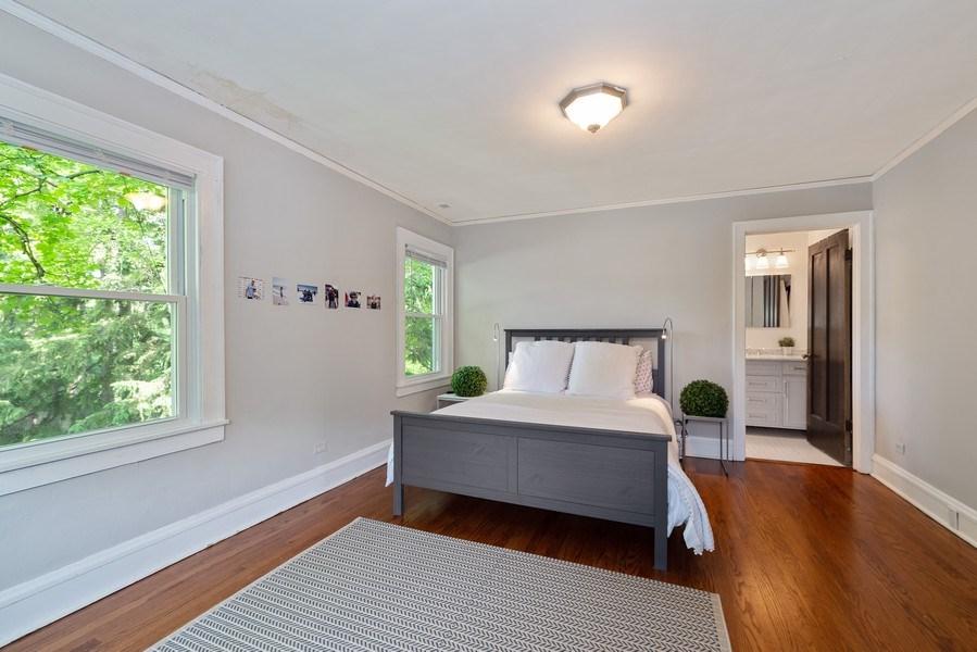 Real Estate Photography - 1159 Green Bay Road, Glencoe, IL, 60622 - Master Bedroom