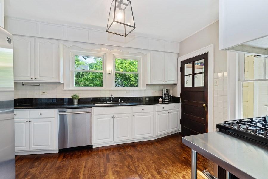 Real Estate Photography - 1159 Green Bay Road, Glencoe, IL, 60622 - Kitchen