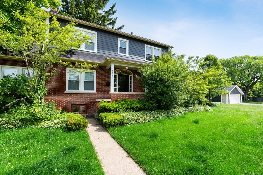 Real Estate Photography - 1159 Green Bay Road, Glencoe, IL, 60622 - Front View