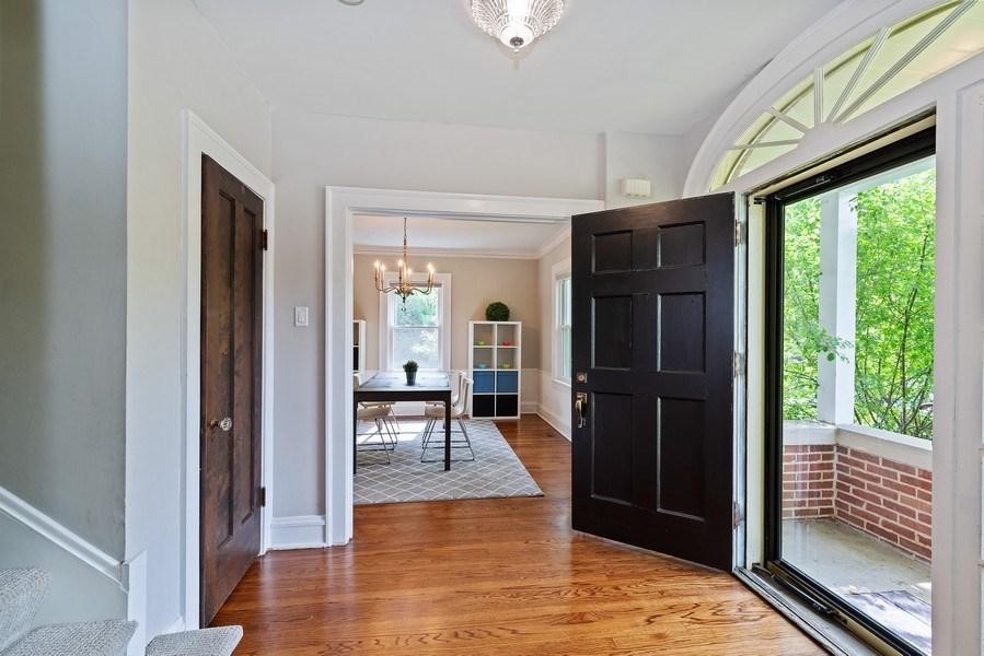 Real Estate Photography - 1159 Green Bay Road, Glencoe, IL, 60622 - Foyer