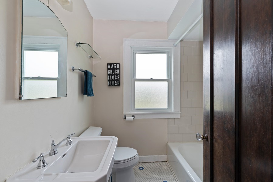 Real Estate Photography - 1159 Green Bay Road, Glencoe, IL, 60622 - 2nd Bathroom
