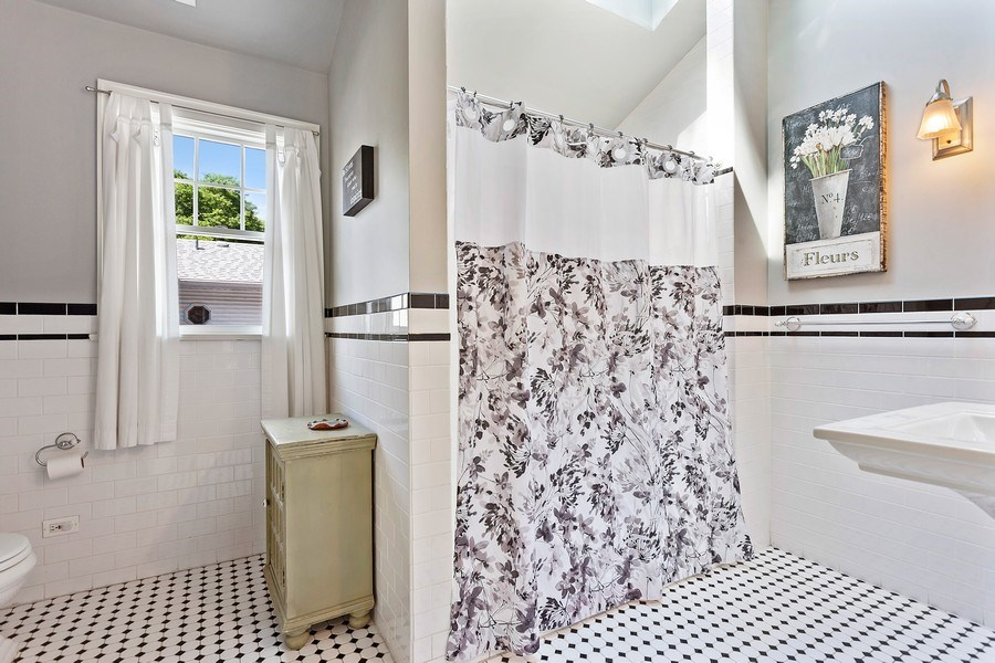 Real Estate Photography - 121 Thatcher, River Forest, IL, 60305 - Master Bathroom
