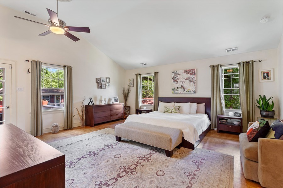 Real Estate Photography - 121 Thatcher, River Forest, IL, 60305 - Master Bedroom