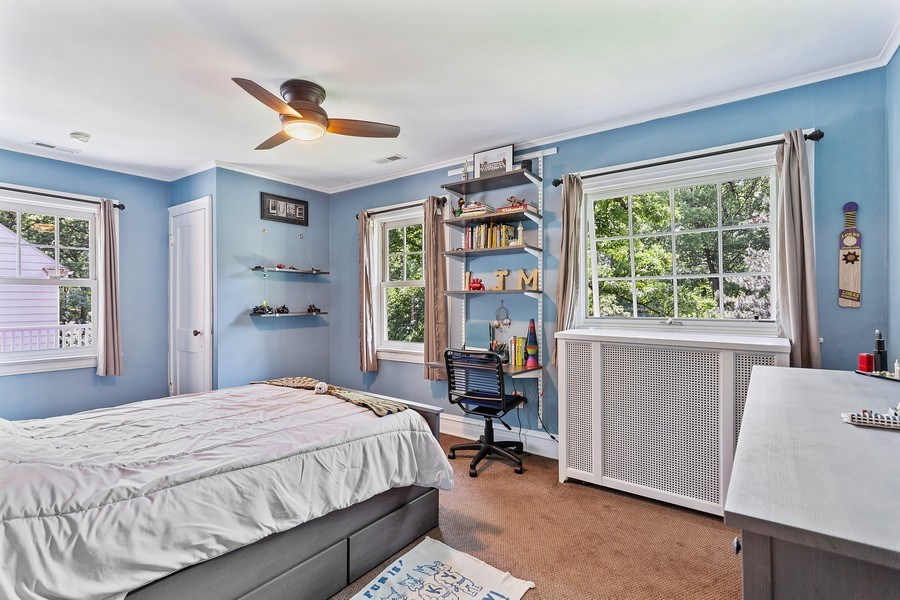 Real Estate Photography - 121 Thatcher, River Forest, IL, 60305 - 2nd Bedroom