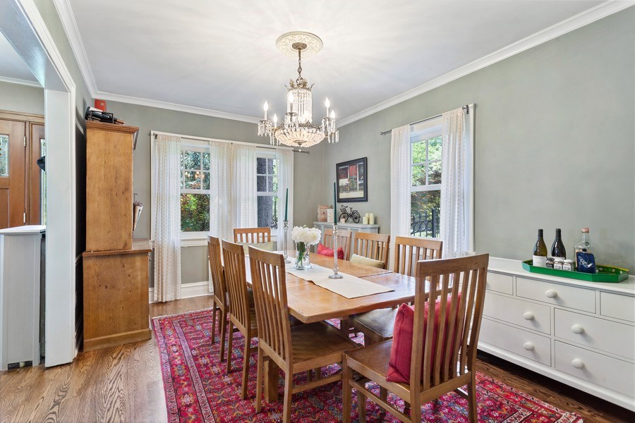 Real Estate Photography - 121 Thatcher, River Forest, IL, 60305 - Dining Room
