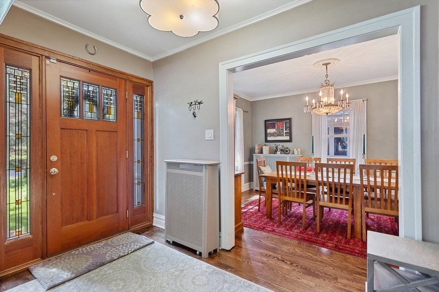 Real Estate Photography - 121 Thatcher, River Forest, IL, 60305 - Foyer