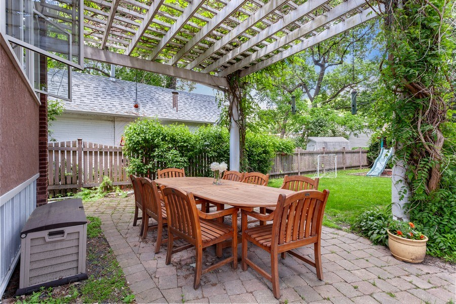 Real Estate Photography - 121 Thatcher, River Forest, IL, 60305 - Patio