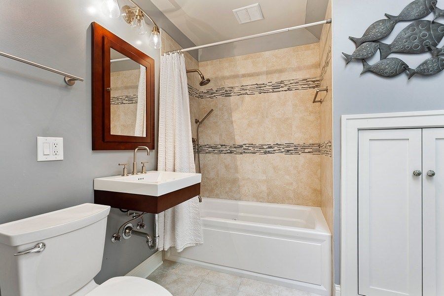 Real Estate Photography - 121 Thatcher, River Forest, IL, 60305 - 2nd Bathroom