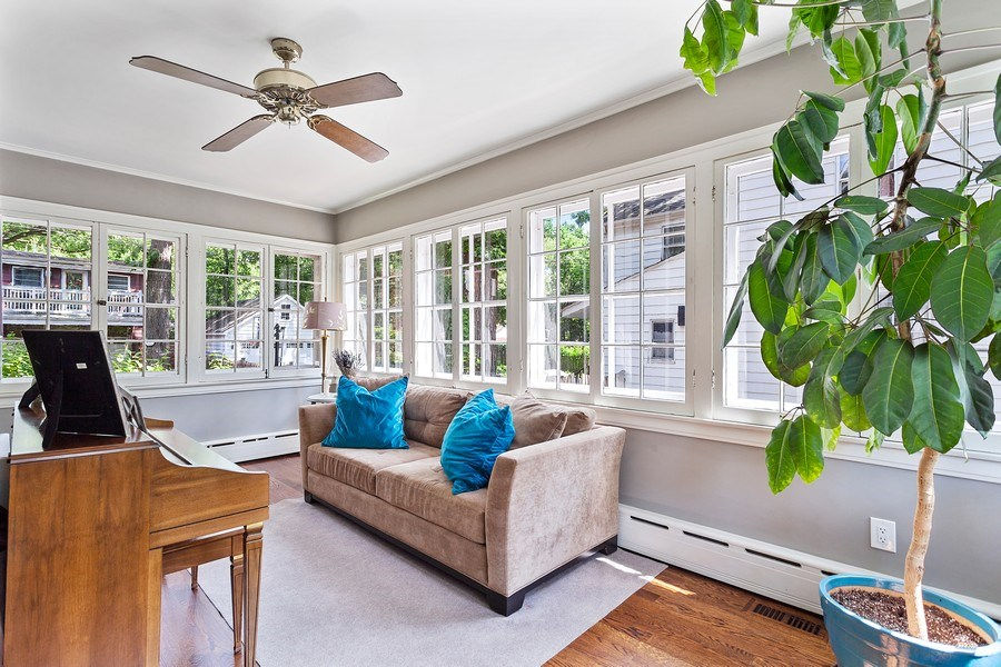 Real Estate Photography - 121 Thatcher, River Forest, IL, 60305 - Sun Room