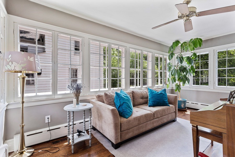 Real Estate Photography - 121 Thatcher, River Forest, IL, 60305 - Sunroom