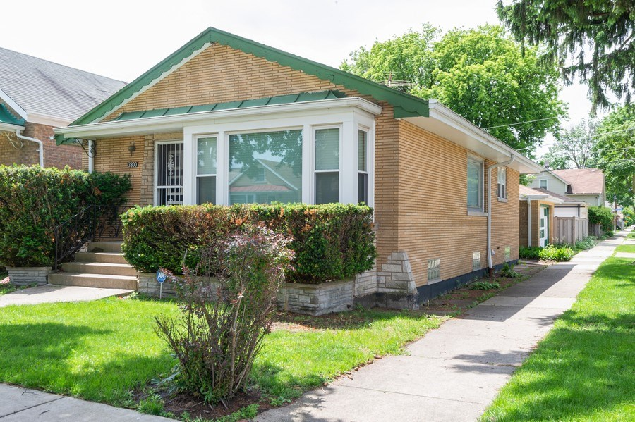 Real Estate Photography - 3800 Elmwood, Berywn, IL, 60126 - Front View