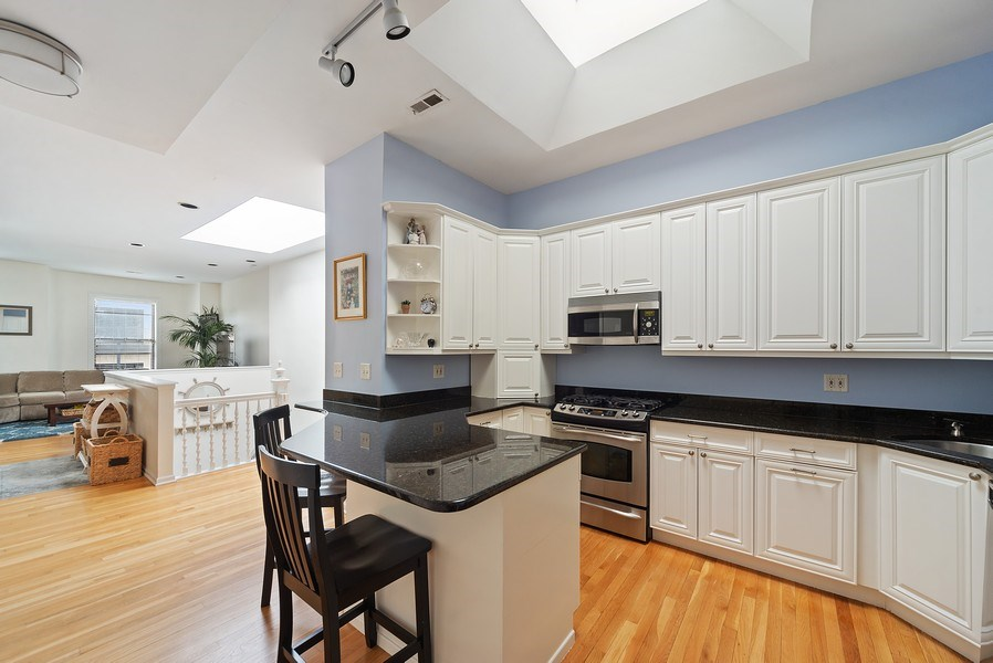 Real Estate Photography - 3753 N. Wilton #4, Chicago, IL, 60613 - Kitchen