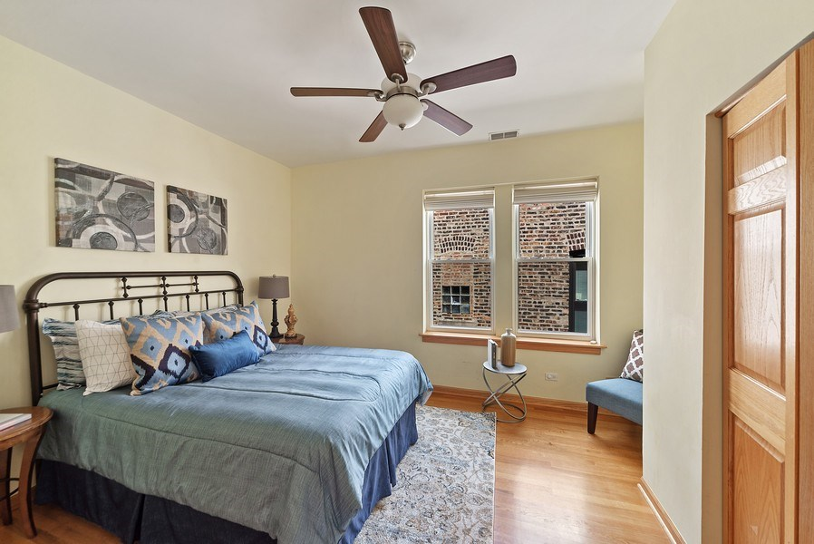 Real Estate Photography - 2634 W Iowa, #4, Chicago, IL, 60622 - 3rd Bedroom