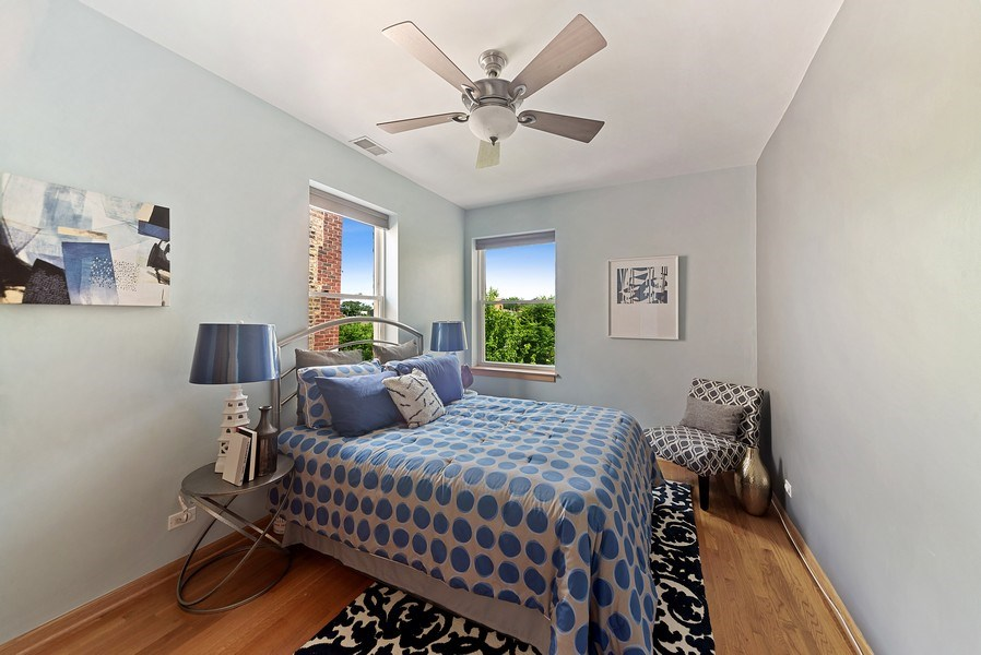 Real Estate Photography - 2634 W Iowa, #4, Chicago, IL, 60622 - 2nd Bedroom