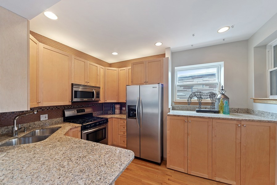 Real Estate Photography - 2634 W Iowa, #4, Chicago, IL, 60622 - Kitchen