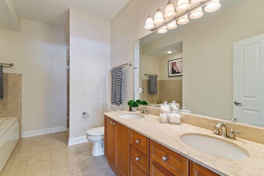 Real Estate Photography - 1801 W. Addison St., 2W, Chicago, IL, 60613 - Master Bathroom