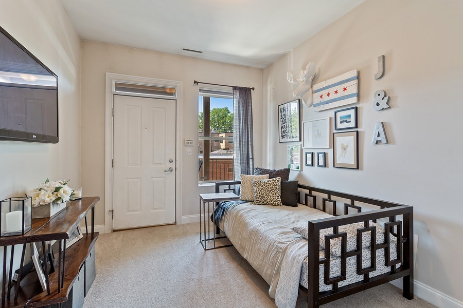 Real Estate Photography - 1801 W. Addison St., 2W, Chicago, IL, 60613 - Bedroom