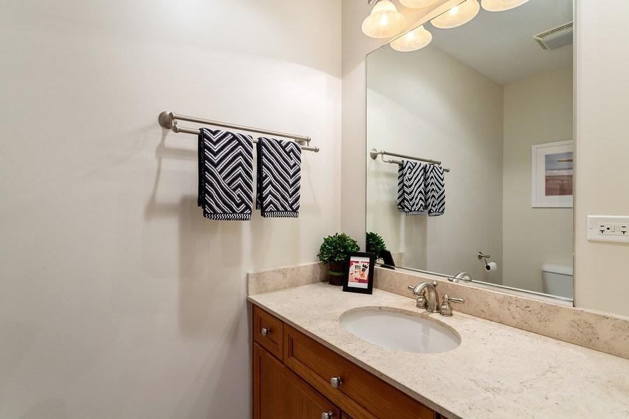 Real Estate Photography - 1801 W. Addison St., 2W, Chicago, IL, 60613 - Powder Room