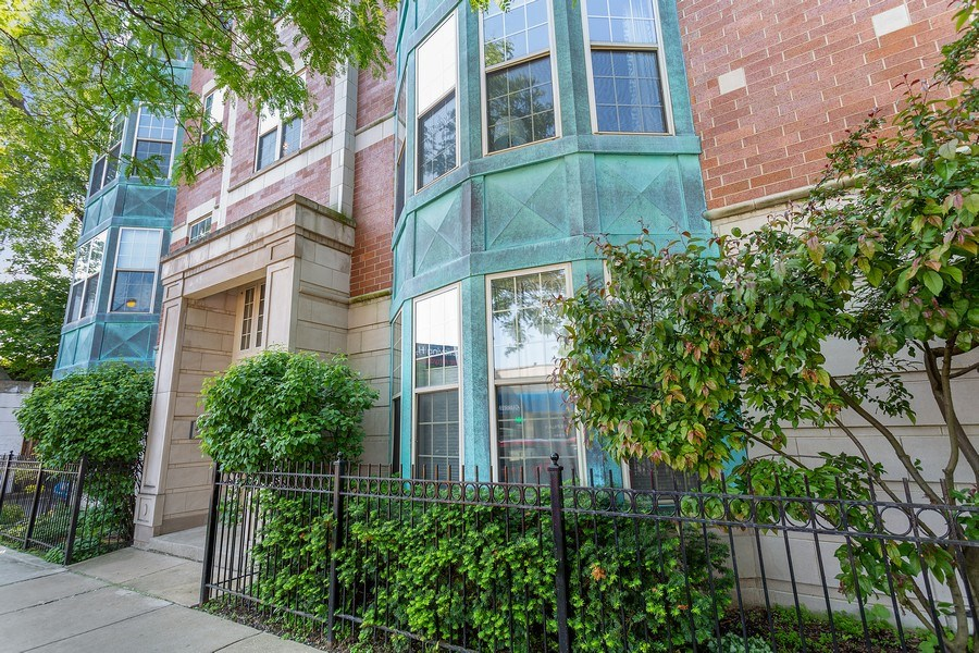Real Estate Photography - 1801 W. Addison St., 2W, Chicago, IL, 60613 - Front View