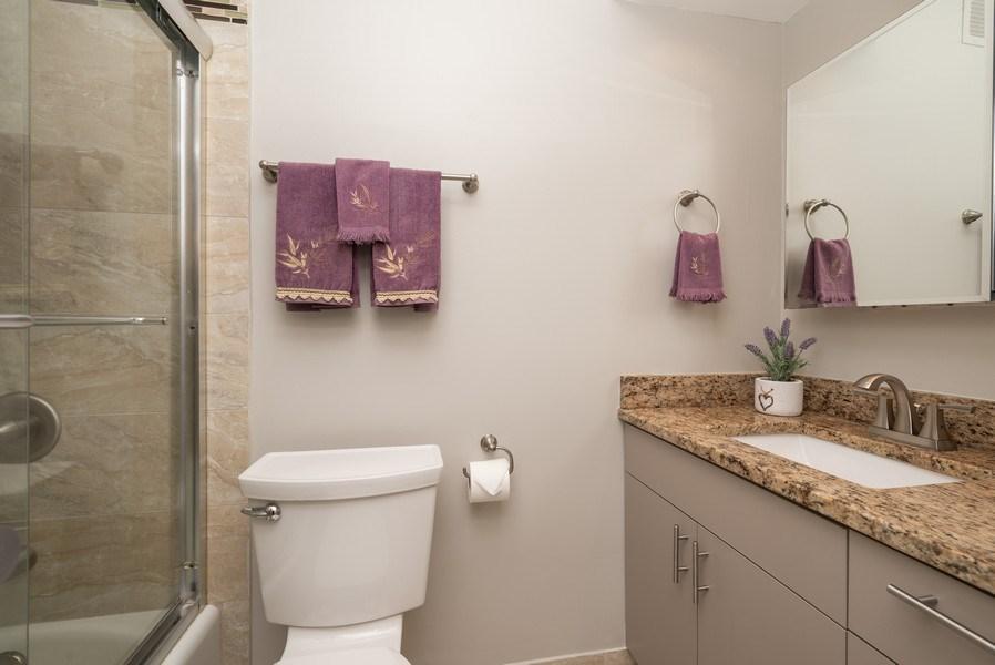 Real Estate Photography - 260 E Chestnut, Unit 1605, Chicago, IL, 60611 - Bathroom
