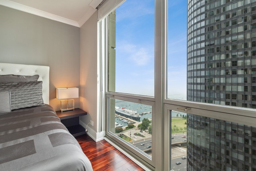 Real Estate Photography - 195 Harbor Dr #2405, Chicago, IL, 60601 - View