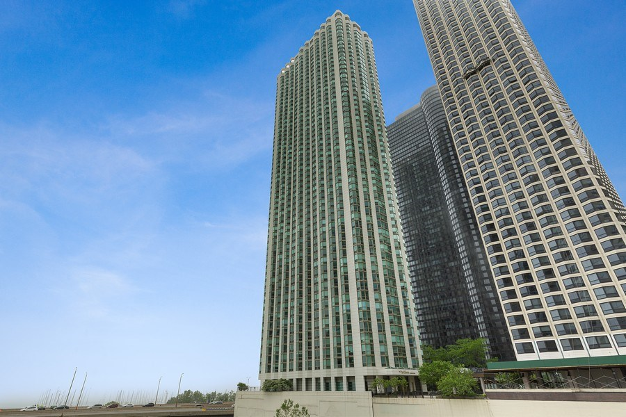 Real Estate Photography - 195 Harbor Dr #2405, Chicago, IL, 60601 - Front View