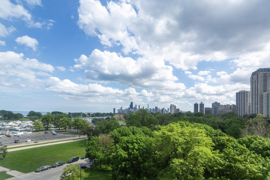 Real Estate Photography - 2800 Lake Shore Drive #706, Chicago, IL, 60657 - View