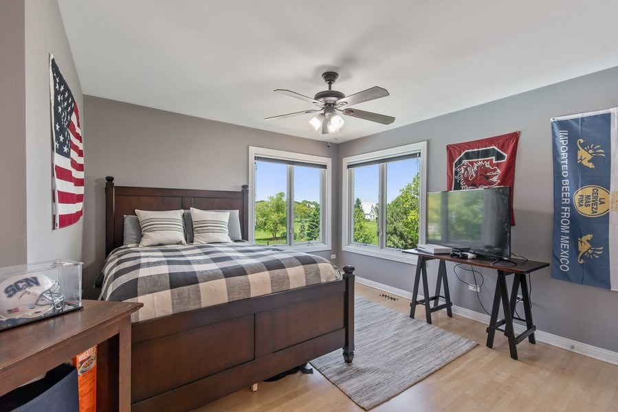 Real Estate Photography - 36W746 Whispering Trail, St. Charles, IL, 60175 - 3rd bedroom