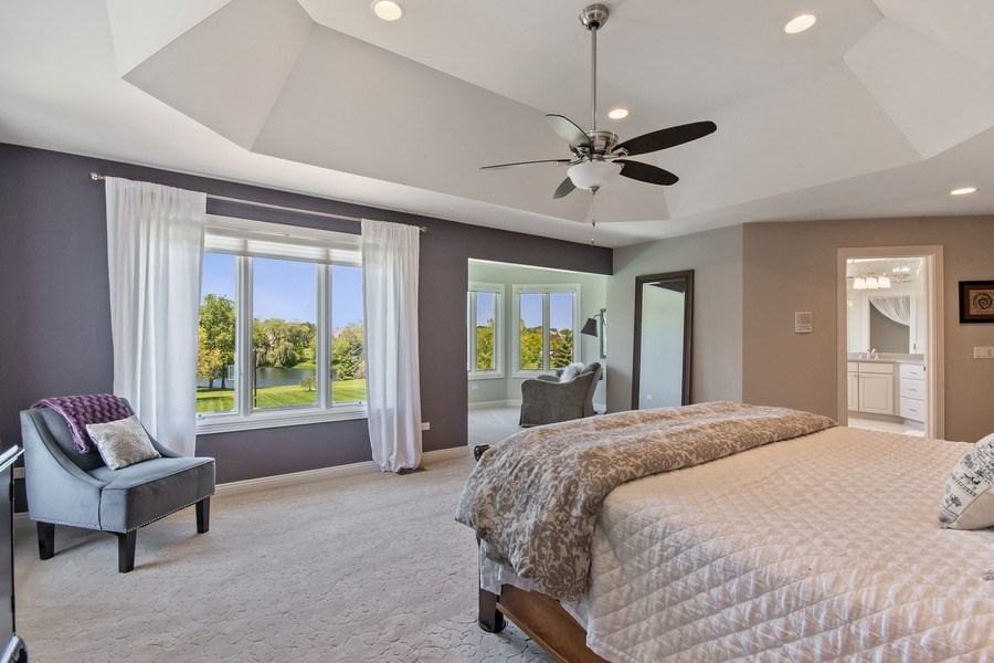 Real Estate Photography - 36W746 Whispering Trail, St. Charles, IL, 60175 - Master Bedroom