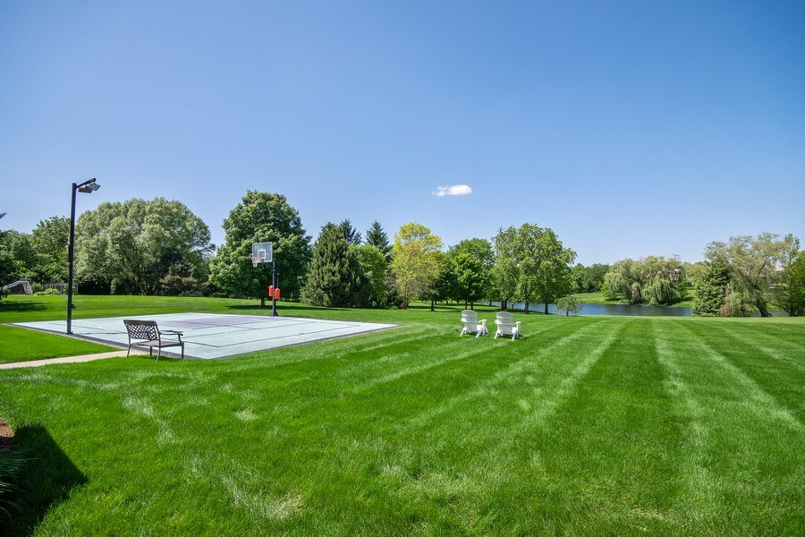 Real Estate Photography - 36W746 Whispering Trail, St. Charles, IL, 60175 - Back Yard