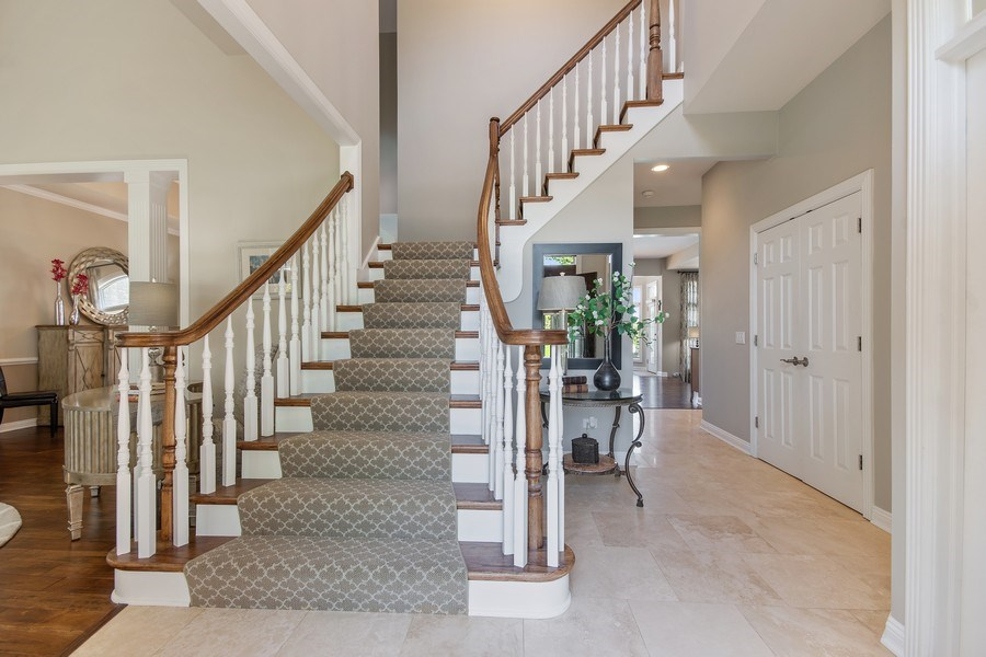 Real Estate Photography - 36W746 Whispering Trail, St. Charles, IL, 60175 - Foyer