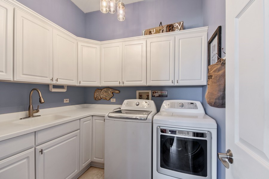 Real Estate Photography - 36W746 Whispering Trail, St. Charles, IL, 60175 - Laundry Room