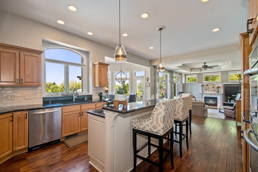 Real Estate Photography - 36W746 Whispering Trail, St. Charles, IL, 60175 - Kitchen
