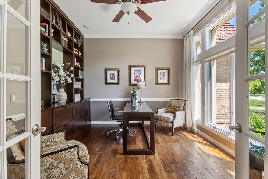 Real Estate Photography - 36W746 Whispering Trail, St. Charles, IL, 60175 - Den