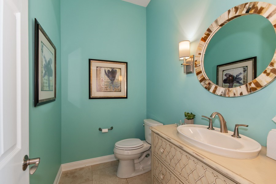 Real Estate Photography - 36W746 Whispering Trail, St. Charles, IL, 60175 - Half Bath