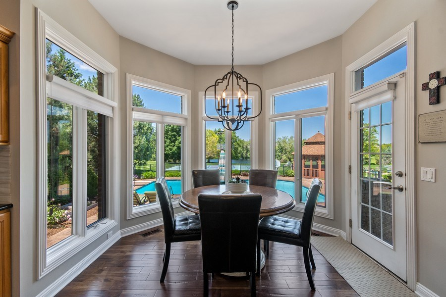 Real Estate Photography - 36W746 Whispering Trail, St. Charles, IL, 60175 - Breakfast Nook