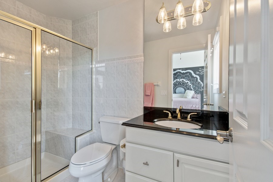 Real Estate Photography - 36W746 Whispering Trail, St. Charles, IL, 60175 - 2nd Bathroom