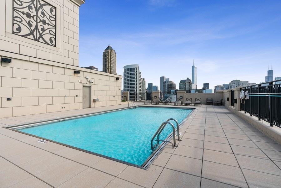 Real Estate Photography - 10 E Deleware Pl, 15A, Chicago, IL, 60611 - Pool