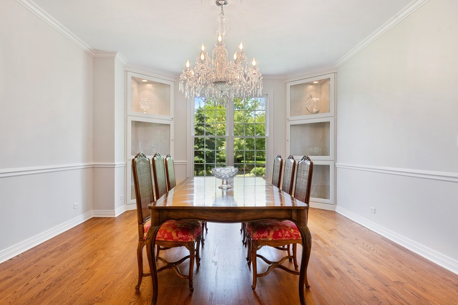 Real Estate Photography - 2888 Independence Ave, Glenview, IL, 60026 - Dining Room