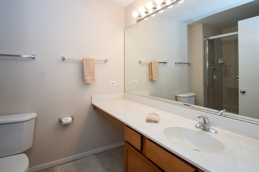 Real Estate Photography - 208 W Washington, Unit 808, Chicago, IL, 60606 - Master Bathroom