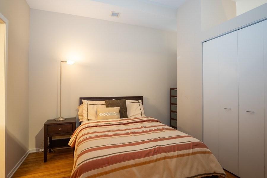 Real Estate Photography - 208 W Washington, Unit 808, Chicago, IL, 60606 - Bedroom