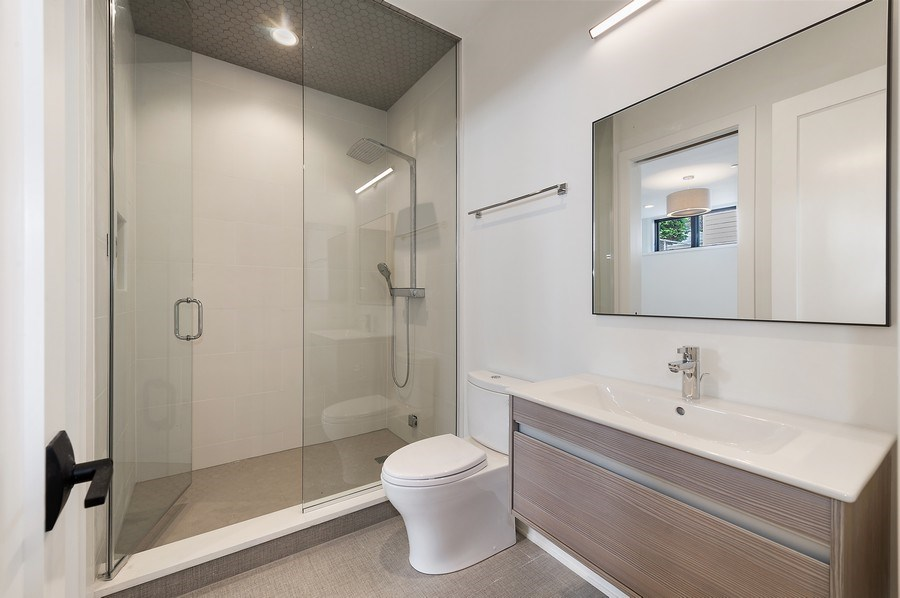 Real Estate Photography - 3647 Leavitt, Chicago, IL, 60618 - Bathroom Five