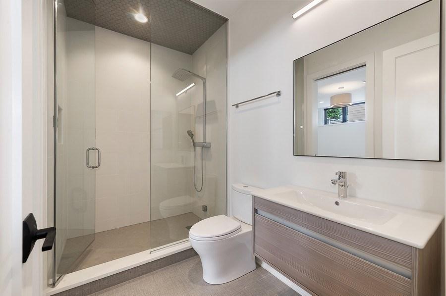 Real Estate Photography - 3647 Leavitt, Chicago, IL, 60618 - Bathroom Five