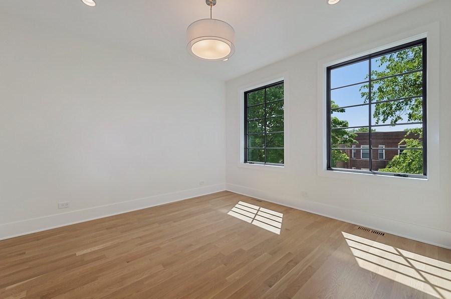 Real Estate Photography - 3647 Leavitt, Chicago, IL, 60618 - Bedroom Three