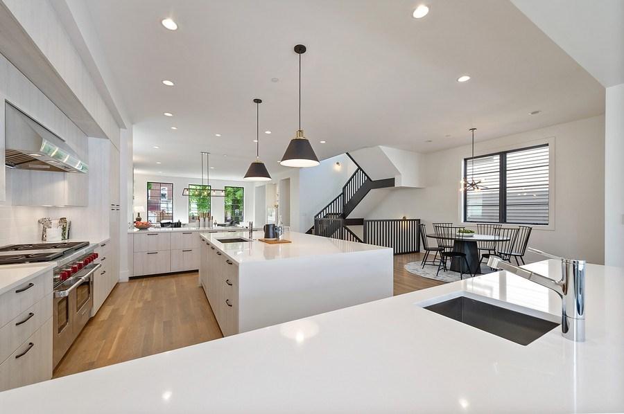 Real Estate Photography - 3647 Leavitt, Chicago, IL, 60618 - Kitchen