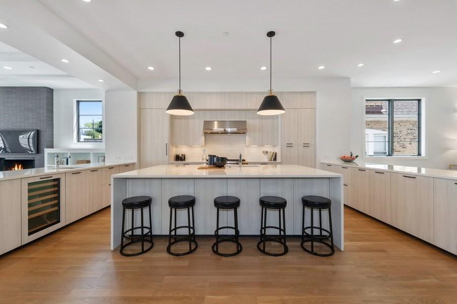 Real Estate Photography - 3647 Leavitt, Chicago, IL, 60618 - Kitchen / Breakfast Room